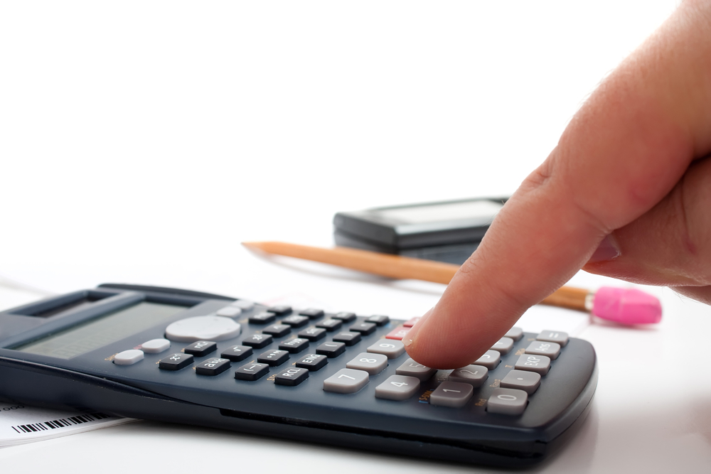 calculator shutterstock 54357139